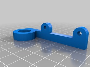 Sensor Holder for 12mm and 18mm for Prusa i3 Printers