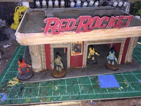 Red Rocket Station Fallout Wasteland Warfare