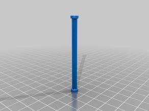 Parametric Circular X-Beam/Rod/Dowel