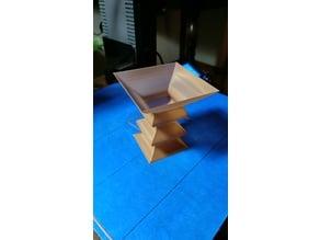Wave Cube Vase
