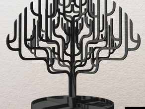 Tree Inspired Jewelry Holder