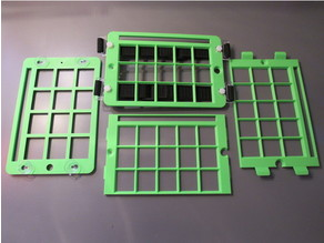 Customizable, 3D Printable Keyguard for Grid-based AAC Apps on Tablets
