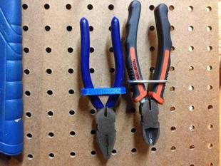 Pegboard Pliers Holder