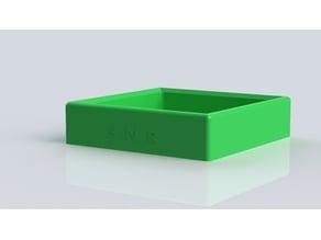 Parts organizational tray