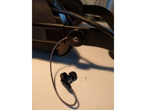 Oculus Rift Audio housing