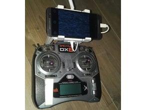 Smartphone holder for DX6i