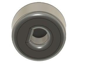 VW radio knob
