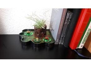Flower Pot - Froggy Pond