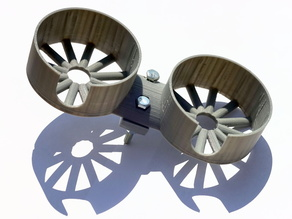 Double Cup Holder for a Porch Swing