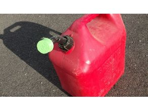 Blitz Red Gasoline Can Replacement Cap