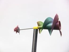 Novel Wind Spinner