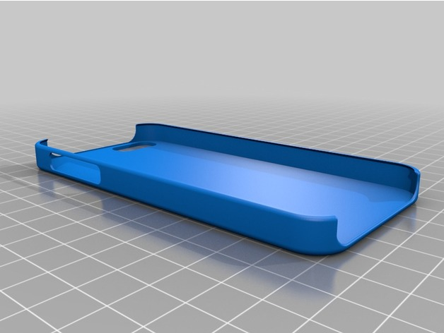 iphone 5 5s se case template by jljl0902 thingiverse
