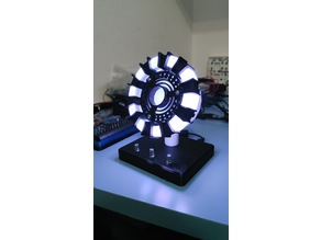 Tony Stark's Arc Reactor RGB Edition