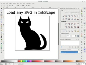 SVG to OpenSCAD Bezier - InkScape extension