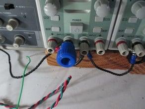 Tightener/power supply terminal grip, terminal grip, screw terminal grip