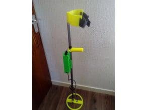 surf pi 1.2 longboard metal detector