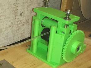 Filament extruder puller
