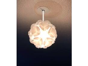 bubble lamp in puzzle(no glue)