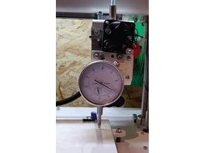 Dial gauge adapter