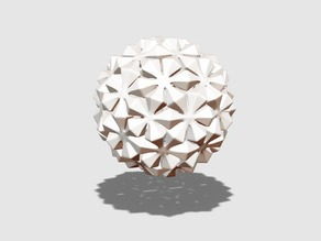 Ice flower bauble
