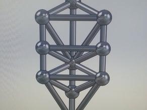 Tree of Life model (jewelry size)