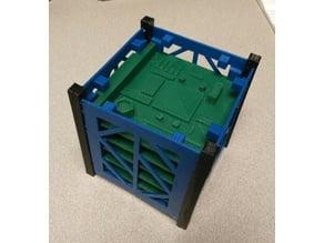 1U Cubesat model v3