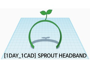 [1DAY_1CAD] SPROUT HEADBAND