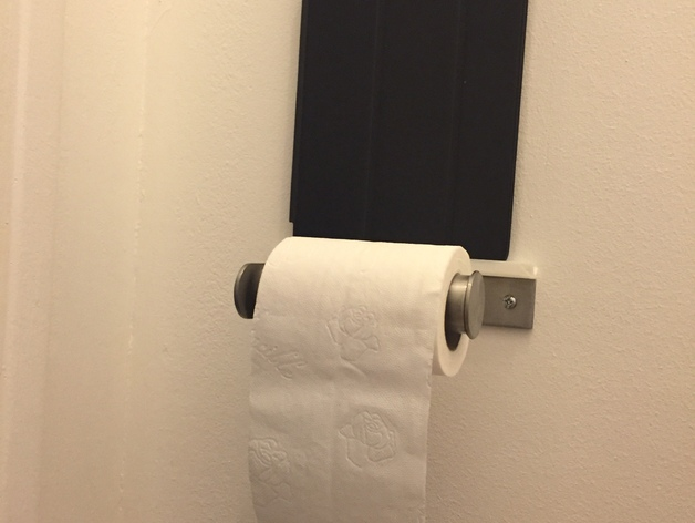 Ikea Island Kitchen Cabinet ~   tablet for Ikea Toilet roll holder GRUNDTAL by droofy  Thingiverse