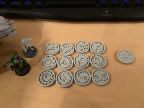 GSC Ambush Markers (Double-sided)