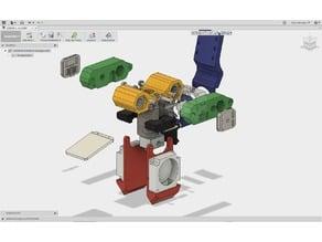 Voron CoreXY X-Carriage (E3Dv6, Improved Part Cooling, IR Z-Probe)