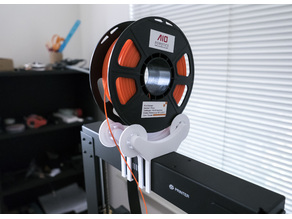 Fully Printable Spool Reel Mount for Duplicator i3 Plus / Maker Select Plus