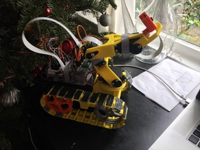 Trackbot for computer vision exercises