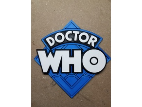 Doctor Who 1970's Logo