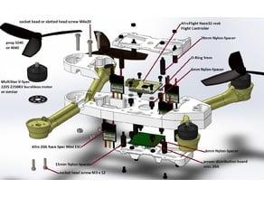 QM-I 270 FPV Racing Quad 3-4s Lipo