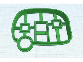 Vintage Camper Cookie Cutter