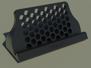NEXUS 7 2013 stand. with Hexagon pattern
