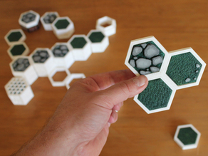 Open Board Game. Triple Connector
