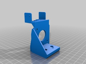 Improved Bondtech/Clone Wanhao D6 Mounting Bracket