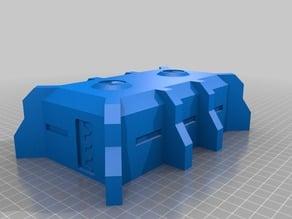 Warhammer 40k custom bunker