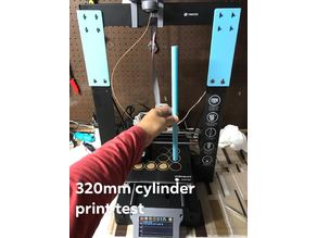 Monoprice Maker Select Plus Z extension (348mm)