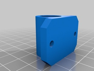 lm8uu bearing holder - minimal