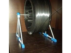 Threaded Rod Spool Holder for 300mm reel of  2kg filament