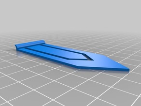 Bookmark with Thumb Catch
