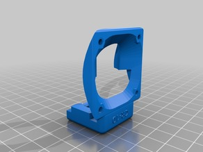 """CR-10 E3D V6 front mount with """"CR-10"""" wording"""
