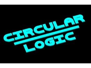 Circular Logic (Parametric Font)