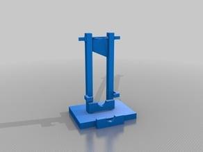 guillotine (working) 800 years Magnacarta anniversary edition