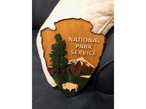 US National Park Service Shield