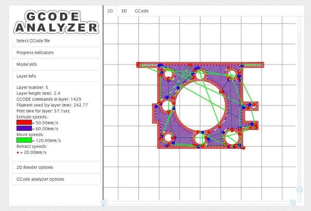 GCode Analyzer/Visualizer by hudbrog - Thingiverse