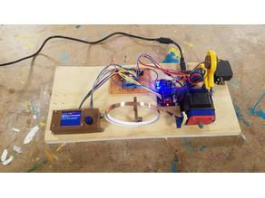 Arduino Automatic Copper Tape Cutter