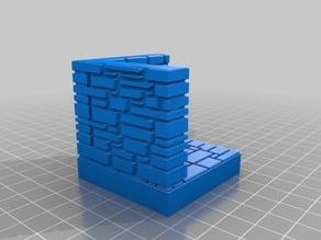 OpenForge Stone Brick Wall Corner